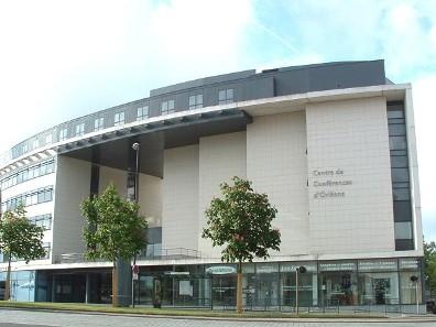 Conference center entrance